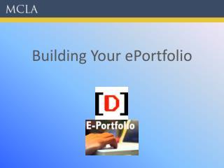 Building Your ePortfolio