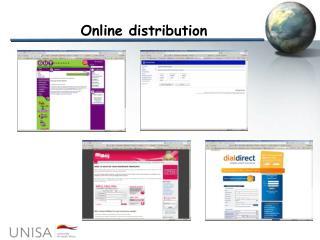 Online distribution