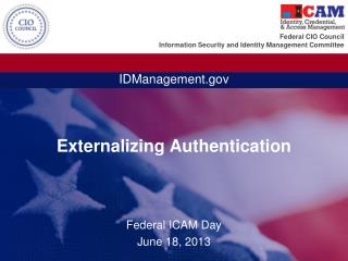 Externalizing Authentication