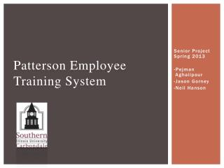 Patterson Employee Training System