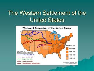 The Western Settlement of the United States