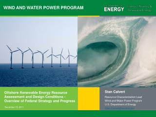 WIND AND WATER POWER PROGRAM