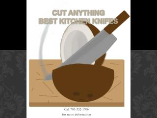 Cut Anything Best Kitchen Knifes