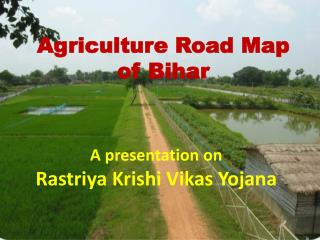 Agriculture Road Map  of Bihar