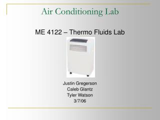 Air Conditioning Lab