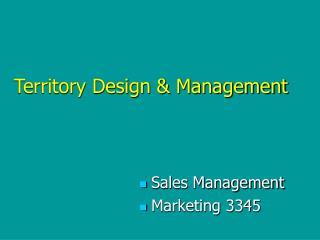 Sales Management Marketing 3345