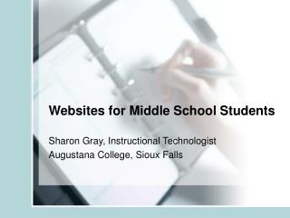 Websites for Middle School Students