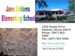 Jane Addams  Elementary School