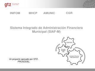 Sistema Integrado  de  Administración Financiera  Municipal (SIAF-M)