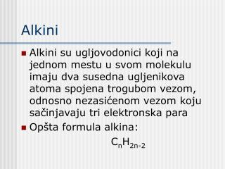 Alkini