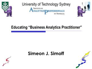 "Educating ""Business Analytics Practitioner"""