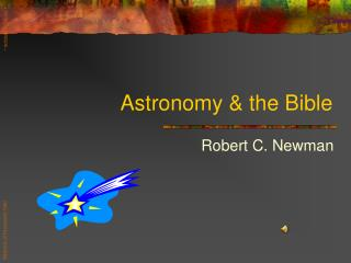 Astronomy  the Bible