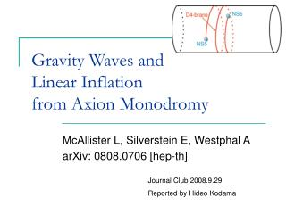 Gravity Waves and  Linear Inflation  from Axion Monodromy