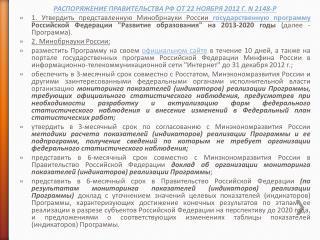 РАСПОРЯЖЕНИЕ ПРАВИТЕЛЬСТВА РФ ОТ 22 НОЯБРЯ 2012Г. N2148-Р
