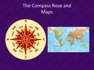 The Compass Rose and Maps