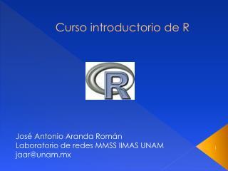 Curso introductorio de R