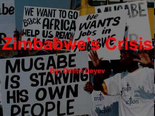 Zimbabwe�s Crisis