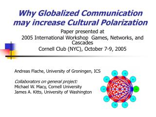 Why Globalized Communication  may increase Cultural Polarization