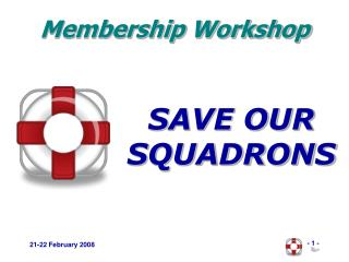 SAVE OUR SQUADRONS