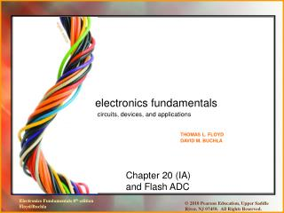 Chapter 20 (IA) and Flash ADC
