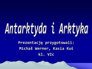 Prezentację przygotowali: Michał Werner, Kasia Kuś kl. VIc