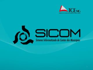 Apresentação do Projeto SICOM
