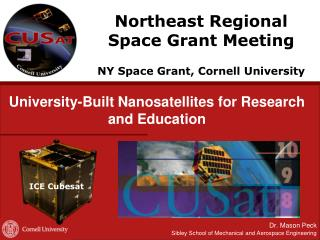 University-Built Nanosatellites for Research and Education