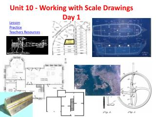 Unit 10 - Working with Scale  Drawings Day 1