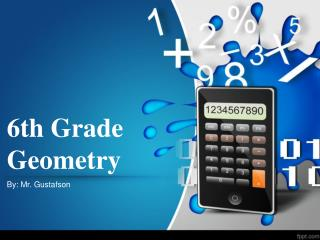6th Grade Geometry