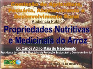 Dr. Carlos Adilio Maia do Nascimento