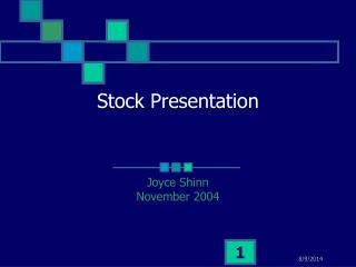 Stock Presentation