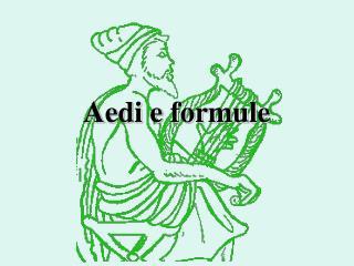Aedi e formule