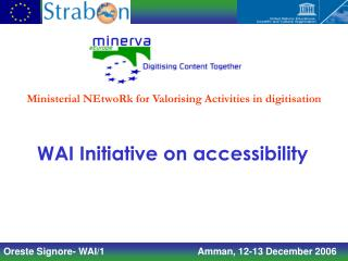 WAI Initiative on accessibility