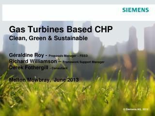 Gas Turbine heritage
