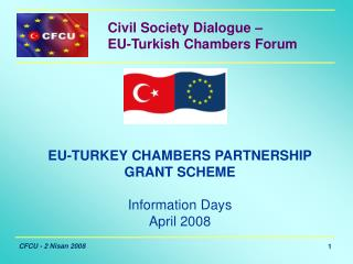 Civil Society Dialogue –  EU-Turkish Chambers Forum