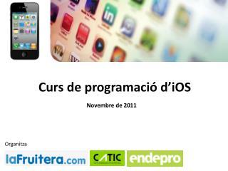 Curs de programació d ' iOS