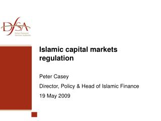 Islamic capital markets regulation
