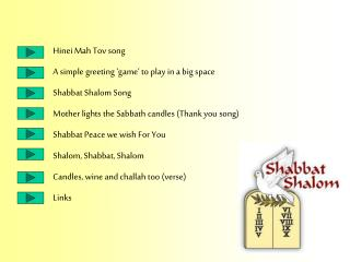 Hinei Mah Tov song  A simple greeting 'game' to play in a big space Shabbat Shalom Song