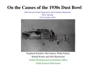 On the Causes of the 1930s Dust Bowl
