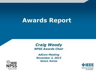 Awards Report