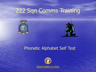 222 Sqn Comms Training