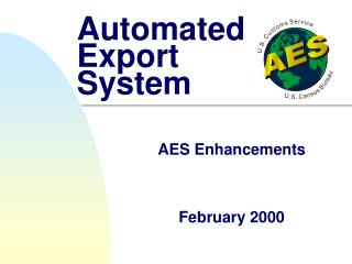 Automated Export System