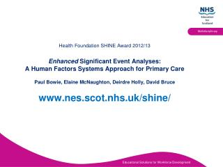 What is a Significant Healthcare Event?