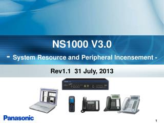 NS1000 V3.0 -  System Resource and Peripheral Incensement -