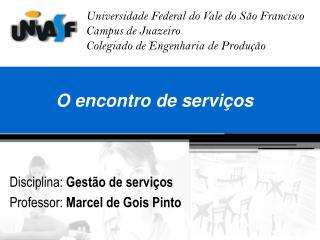 O encontro de serviços