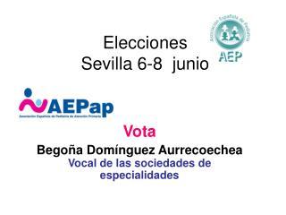 Elecciones Sevilla 6-8  junio