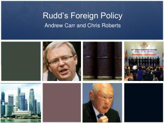 Rudd's Foreign Policy