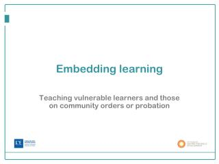 Embedding learning