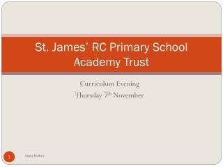 St james primary school
