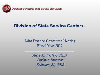 Division of State Service Centers